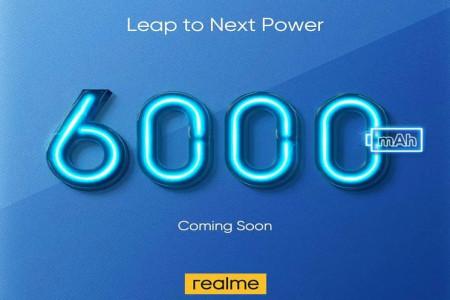 ریلمی برای معرفی گوشی 6000 میلی آمپر/ساعت آماده می شود