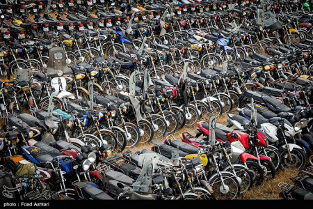 ترخیص 50 هزار موتورسیکلت رسوبی