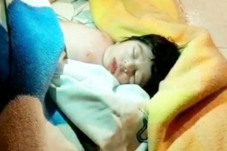 نوزادی که در غسالخانه زنده شده بود درگذشت