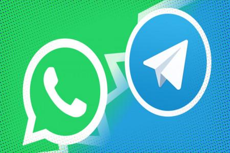 روش انتقال چتها از واتساپ به تلگرام