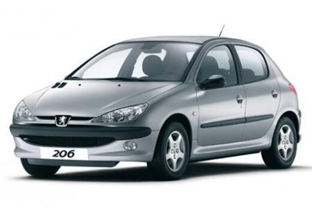 جدیدترین قیمت انواع پژو 206 در بازار