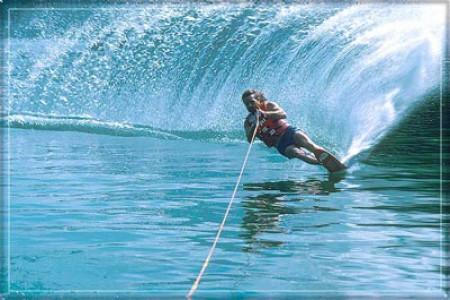 اسکی روی آب