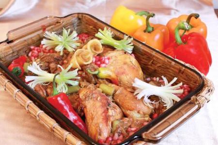 آیا تا بحال این غذاها را با انار و رب انار ,میل کرده اید ؟