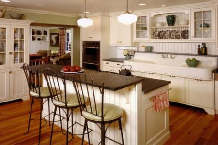 اصول چیدمان و دکوراسیون برای آشپزخانه اپن