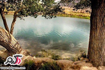 آشنایی با چشمه ی غربال بیز استان یزد