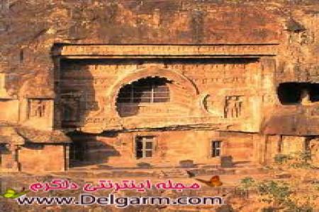 غار های آجانتا یک مکان تفریحی در هند