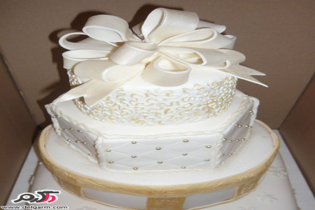 مدل کیک عروسی زیبا