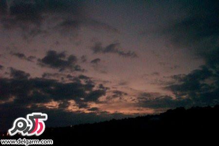 عکس آسمان شب با تم رویایی