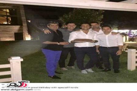 تک عکس جنجالی از جشن تولد فرهاد مجیدی