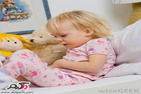 علت دل درد کودکان و نوزادان