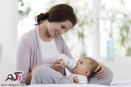 چگونه کودک خود را به آسانی از شیر بگیریم؟