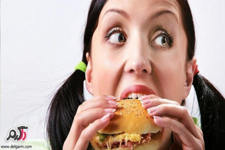 غذاهایی که باعث گرسنگی بیشتر میشود؟