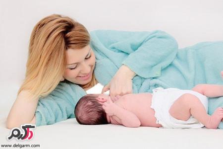 فواید آغوز در شیر اولیه مادر برای نوزادان