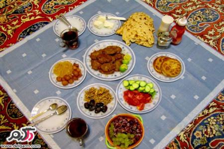 غذا و خوراکی های مناسب برای ماه مبارک رمضان