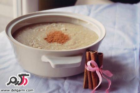 طرز تهیه حلیم شیر خوشمزه و عالی