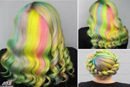 ترکیب رنگ مو | زیباترین فرمول رنگ موهای ترکیبی