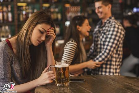 تاثیر الکل بر بدن شما