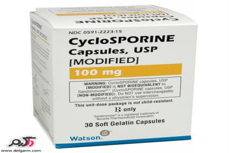 موارد مصرف قرص سیکلوسپورین و عوارض این دارو