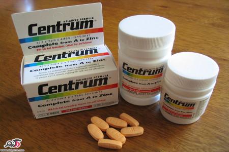 موارد مصرف مولتی ویتامین سنتروم(Centrum) و عوارض دارویی آن