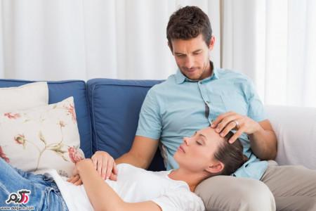 توصیه های مهم برای آقایانی که همسرشان باردار است