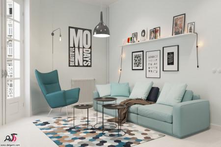 دکوراسیون داخلی منزل به سبک اسکاندیناوی + عکس