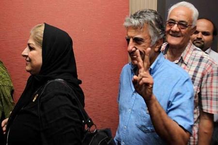 تصاویر هنرمندان سینما در مراسم بازگشایی خانه سینما
