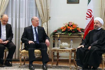 تصاویر دیدار رئیس مجلس نمایندگان عراق با حسن روحانی