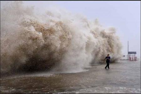 فرار از چنگ طوفان