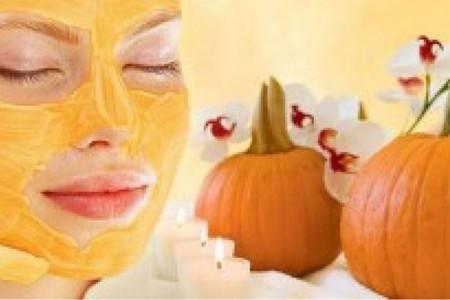 ماسک کدو حلوایی برای درمان آکنه و درخشان کننده پوست