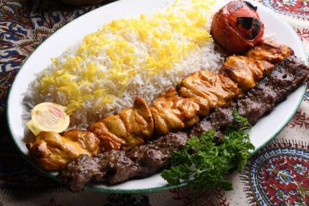چلو کباب وزیری : آموزش تهیه کباب وزیری، مرغ و کوبیده
