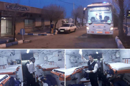 آمار تلفات واژگونی اتوبوس تهران-شیراز در اصفهان