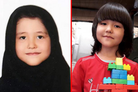 گم شدن فاطمه شریفی دختر ۸ ساله افغانستانی