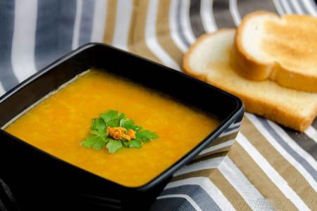 آشنایی با روش تهیهی سوپ پرتقال
