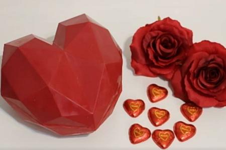 قلب شکلاتی سوپرایز