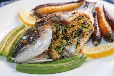 روش های تهیه ماهی شکم پر