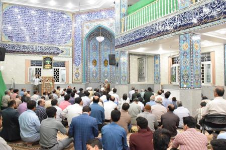 نام و آدرس مساجد شهرک امیر حمزه و شهر ابریشم اصفهان