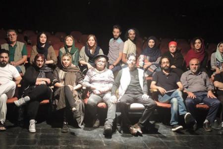 رضا رویگری با همسرش تارا کریمی به صحنه تئاتر بازگشت