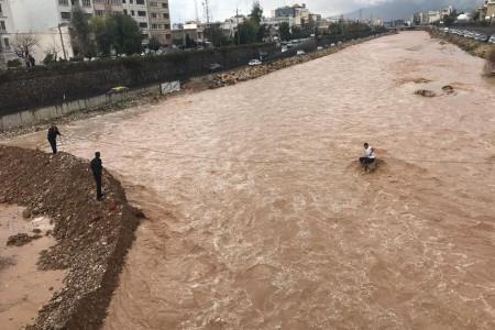احتمال وقوع سیل در شرق اصفهان