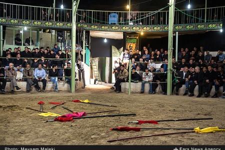 تصاویر اجرای تعزیه مسلم بن عقیل در روستای حصار خروان-قزوین
