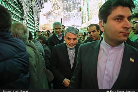 تصاویر سفر وزیر ارشاد به شیراز