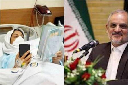 معلم فداکار تهرانی که تا پای جان ایستاده کیست ؟