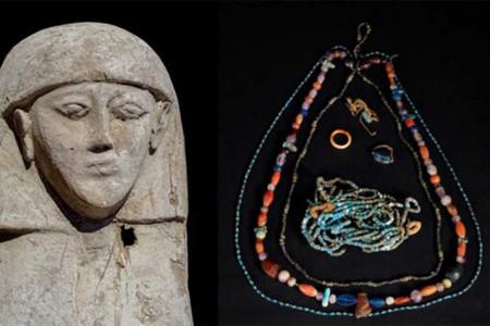 مومیایی یک عروس در مصر کشف شد + عکس