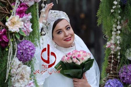 عکس | گریم مهراوه شریفی نیا موقع خودکشی در سریال دل