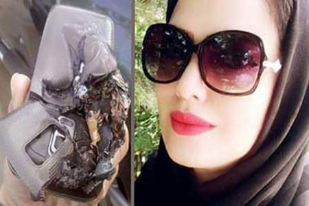 مرگ تلخ خانم معلم اهوازی بر اثر انفجار تلفن همراهش !