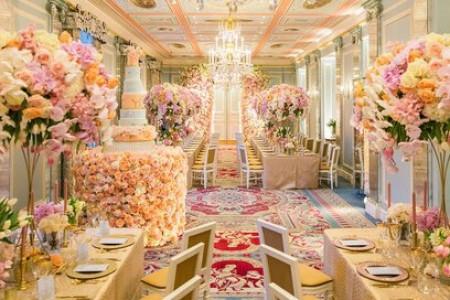 عروسی سیندرلایی در لواسان با هزینه های میلیاردی + عکس