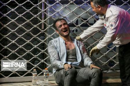 تصاویری تلخ از حادثه انفجار کلینیک درمانی سینا تهران