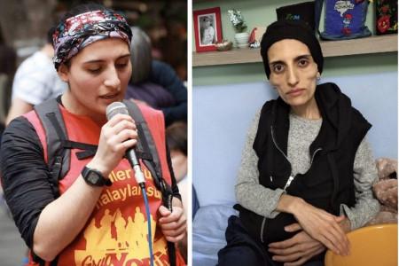 هلین بولک خواننده ترکیه پس اعتصاب غذا جان باخت