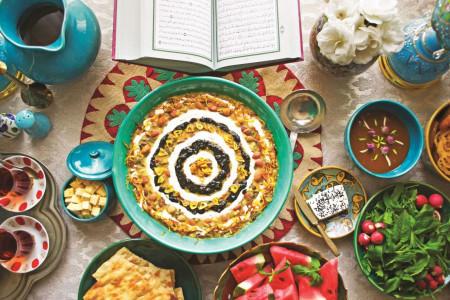 جدیدترین مدل های تزیین سفره افطار ماه رمضان
