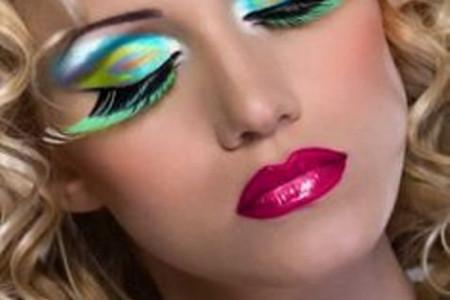 مدل های جدید آرایش با استفاده از مژه مصنوعی
