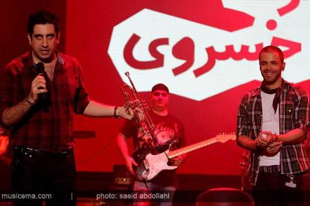 گزارش تصویری کنسرت سیروان خسروی در برج میلاد